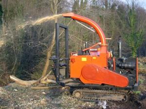 wood-chipper